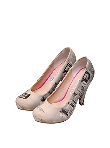 DOGO  HIGHEEL NEW YORK SKy, Bottes classiques femme Multicolore - Beige