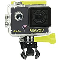 Discovery Adventures 4K Ultra-HD WLAN Action Kamera Escape schwarz