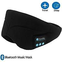 Jhua Schlaf Augenmaske Wireless Night Maske mit Kopfhörer Bluetooth Soft Cotton Eye Schatten Abdeckung Blinder... preisvergleich bei billige-tabletten.eu