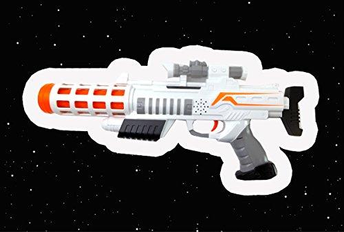STAR WARS EPISODE 7 – Storm Trooper First Order Set bestehend Maske und Elektrischem Space Blaster mit Sound - 3