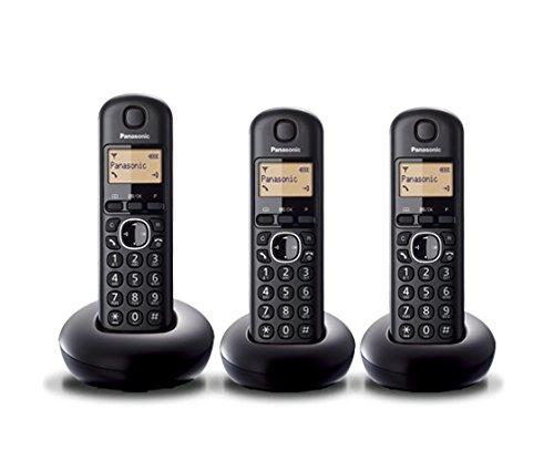 Panasonic KX-TGB213SPB - Teléfono Inalámbrico Digital (DECT Dúo, id