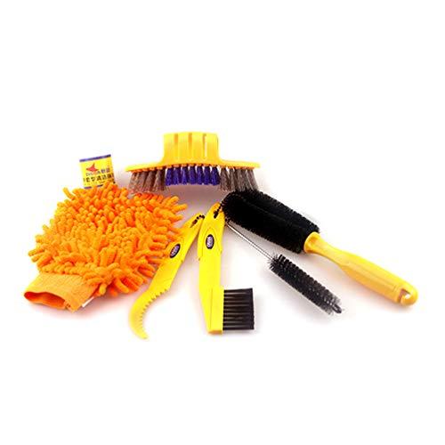 ahrrad Reinigungswerkzeuge Set, Clean Brush Kit für Fahrrad Ecke Kurbel Schmutz Sauber Wartung Werkzeuge Fit BMX Faltrad ()