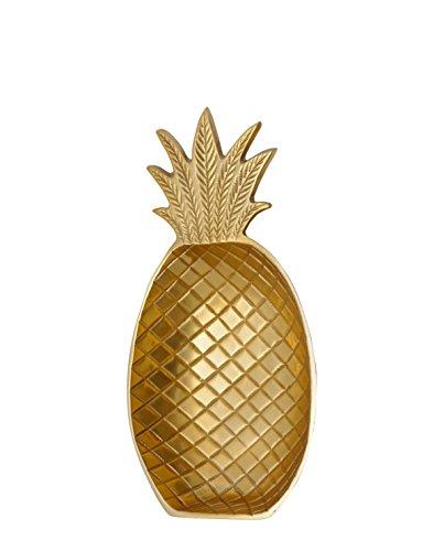 LIV Interior Deko Schale Ananas gold 25 x 13,5 cm, gold