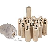 Bada-Bing-14-TLG-Holz-Wurfspiel-Aus-Naturholz-Geschicklichkeitsspiel-Drauen-Spiel-Fr-Jung-Und-Alt-77