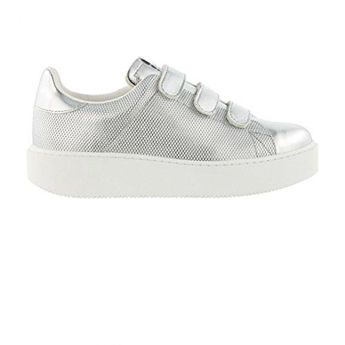 Chaussures Deportivo Velcros Metal Plata W - Victoria Gris