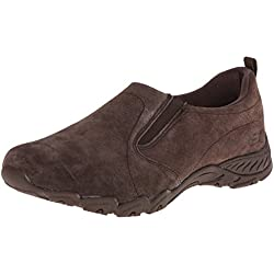 Skechers Women's Endeavor-Atmosphere Fashion Sneaker,Chocolate,6.5 M US
