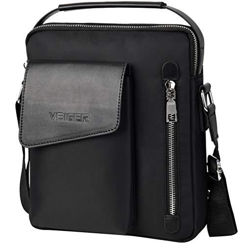 Vbiger borsello uomo borsa tracolla uomo impermeabile borsa messenger per viaggio sport lavoro