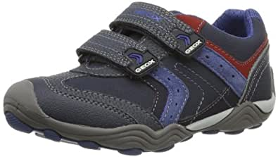 Geox JR ARNO A J42F0A05022C0700 Jungen Sneaker, Blau (NAVY/AVIO C0700), EU 31