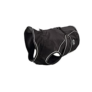 hunter Uppsala Softshell Dog Coat, 40 cm, Black