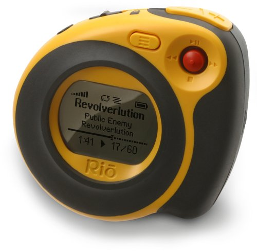 Rio Cali Yellow Tragbarer MP3-Player 128 MB