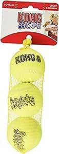 KONG SqueakAir Ball Dog Toy, Medium (3-pack)