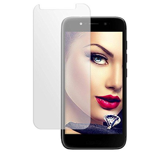 mtb more energy® Schutzglas für Wiko WIM Lite (5.0'') - Tempered Glass Bildschirm Schutzfolie Glasfolie