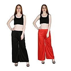marami trouser black red