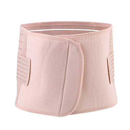 Zerodis Damen Bauchband Bauch Wrap Gürtel Body Shaper Gürtel Schwangerschaft Recovery Korsett Taille Trainer Band(L)
