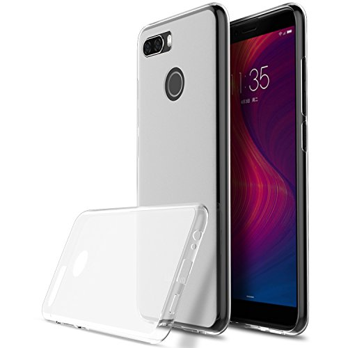 KuGi Lenovo K5 Play Hülle, Kratzfeste Hülle Lenovo K5 Play Schutzhülle Soft TPU Case Ultradünn Cover [Slim-Fit] [Anti-Scratch] [Shock Absorption] für Lenovo K5 Play Smartphone. Klar