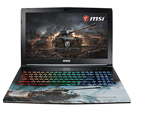 "MSI Gaming GP62M 7REX(World Of Tanks Edition)-1294UK 2.8GHz i7-7700HQ Intel® CoreTM i7 di settima generazione 15.6"" 1920 x 1080Pixel Nero Computer portatile"