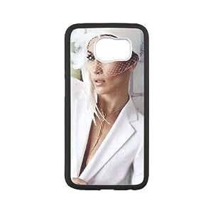 Samsung Galaxy S6 Case Jennifer Lopez Philip Treacy, Case for Samsung Galaxy S 6 Cell Phones - [White] Yearinspace