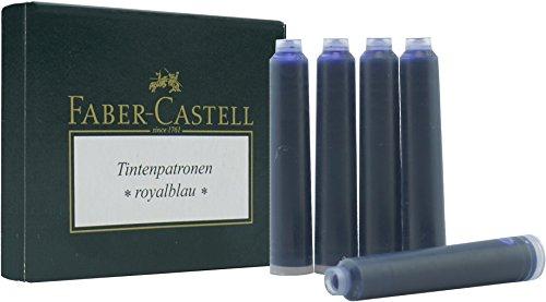 Faber Castell Tinte refills-faber Castell 6Für Füllfederhalter, Schwarz