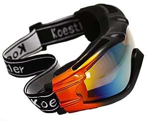 Oramics Lunettes unisexes Design moderne Pour sport, moto, ski et snowboard