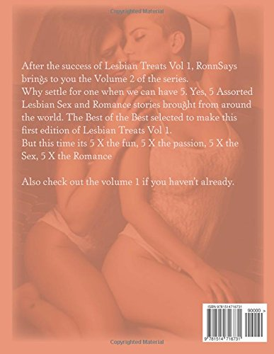 Lesbian Treats Vol 2: Collection of Lesbian Erotic Short Stories: Volume 2