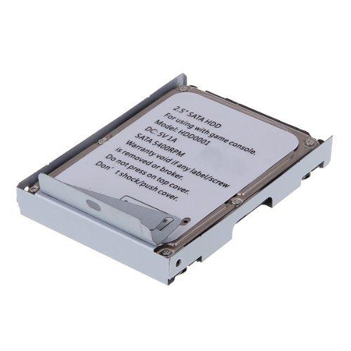 SODIAL(R) 320GB Festplatte PS3 Super Slim + Halterung fuer Sony Playstation 3 Metall