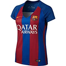 Nike Fc Barcelona W Ss Hm Stadium Jsy Camiseta de Manga Corta, Mujer, Azul (Sport Royal / Gym Red / University Gold), XL