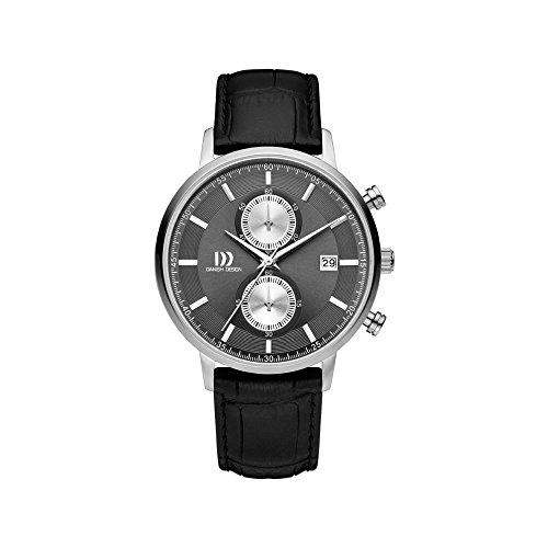 DANISH DESIGN Reloj Analógico para Hombre de Cuarzo con Correa en Cuero IQ14Q1215