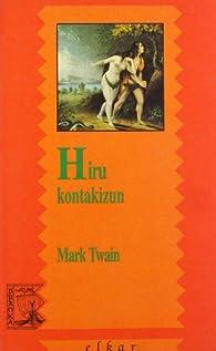 Hiru kontakizun par Mark Twain