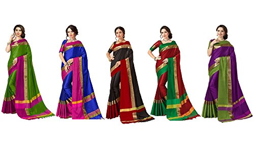 Amazon Great Indian Sale Livas Fashion Sarees ( Combo Sarees Pack of...