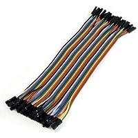 Bloomgreen Co. estrenar 20cm de largo M/F sin soldadura flexible de tablero del puente cable de alambre de 40 piezas de AD