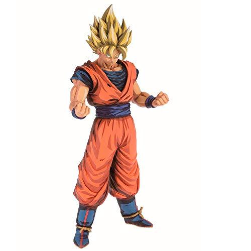 Banpresto-81023 Dragonball Z Grandista Super Saiyan Son Goku Manga Dimensions, (Bandai 81023)