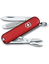 Victorinox - Couteau Suisse de Poche - Victorinox Classic SD - 0.6223 - Rouge - 7 Pieces
