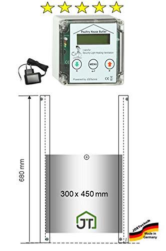 JOSTechnik Poultry House Butler PHB mit Entenklappe 300x450mm ! Direkt vom Hersteller!