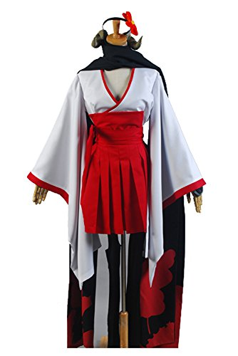 Inu x Boku SS Shirakiin Ririchiyo youkai form Cosplay Kostüm Outfit Anzug Kleid Damen M (Karuta Cosplay Kostüm)