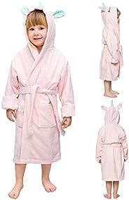 Twinzen - Accappatoio Unicorno - Bambina e Bambino - Senza Prodotti Chimici Oeko-Tex® - 100% Cotone - Accappat