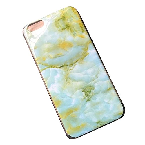 Cuitan Marmor Muster TPU Weiche Hülle Schutzhülle für Apple iPhone 6 / 6S (4,7 Zoll), Modisch Rück Abdeckung Back Cover Case Rückseite Tasche Handytasche Handyhülle für iPhone iPhone 6 / 6S (4,7 Zoll) Farbe 7