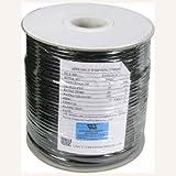 InstallerParts 304,8m UL 4conducteur Noir Modular Enrouleur de Câble 26AWG