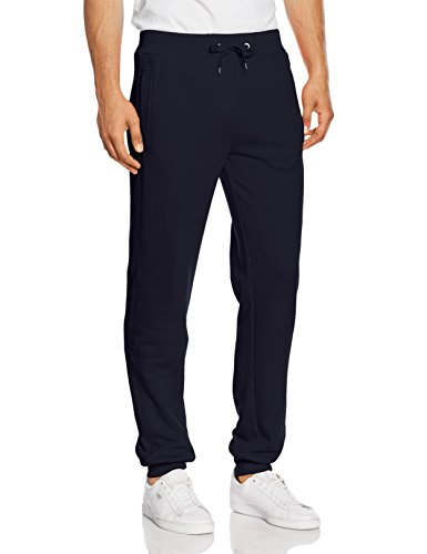 Urban Classics Herren Hose Straight Fit Sweatpants Blau (navy 155)