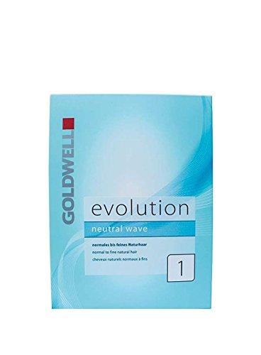 Goldwell 13270 Evolution Dauerwellset 1 normales bis feines Haar, 1er Pack, (1x 0,18 L)