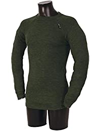 Mens 1 Pack Ussen Baltic Pro Crew Neck Long Sleeved Thermal T-Shirt In 2 Colours