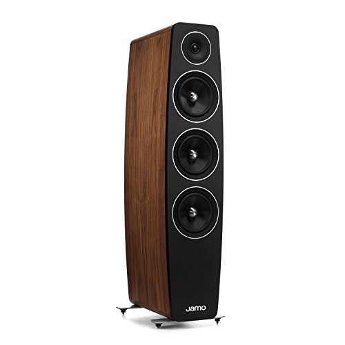 Jamo C 109 Concert 10 Floorstanding Speaker (Single) -Walnut