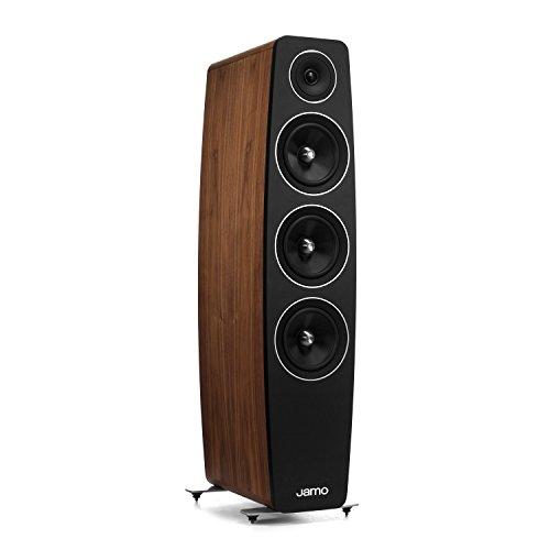 Jamo C 109 Concert 10 Floorstanding Speaker (Single) -Walnut