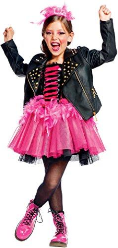 NEVAL LADY PUNK BABY für KARNAVALKOSTÜME fancy dress halloween cosplay veneziano party 50636 Size 4 (Punk Halloween-kostüme Für Babys)