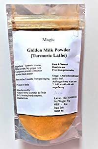 Magic Golden Milk Powder Turmeric Latte Blend Pure Delicious Turmeric Milk Powder.