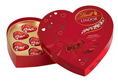 Cuore cioccolatini lindt lindor idea regalo san valentino 110 gr