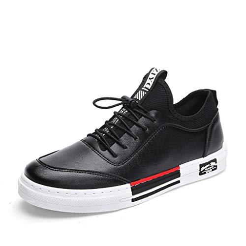 LXJL 2019 Spring Men es Skateboarding Schuhe, Low-Hilfe-Riemen Herrenschuhe Sport Mode Mode Casual Schuhe,a,40 - Skateboarding-skateboard-schuhe