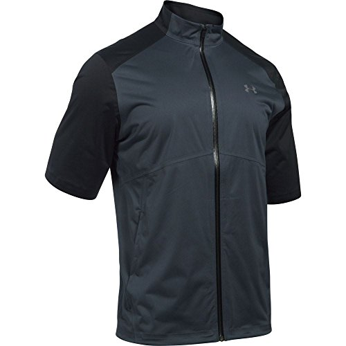 Under Armour 2016 Storm 3 Short Sleeve Waterproof Mens Golf Rain Jacket