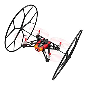 Minidrone Rolling Spider Parrot Gadget Toy (Red)