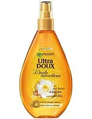 Garnier - Ultra DOUX Huile Merveilleuse aux Huiles d'Argan et Camélia Cheveux Secs