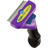 FURminator - Spazzola raccogli pelo per Gatti di taglia grande a pelo corto (inferiore ai 5cm) - riduce spargimento peli del 90%